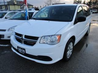Used 2016 Dodge Grand Caravan POWER EQUIPPED SXT MODEL 7 PASSENGER 3.6L - V6.. CAPTAINS.. STOW-N-GO.. CD/AUX INPUT.. POWER WINDOWS.. KEYLESS ENTRY.. for sale in Bradford, ON