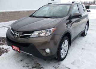 Used 2013 Toyota RAV4 LIMITED  for sale in Renfrew, ON
