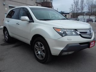 Used 2008 Acura MDX leather,heated and power seats, aluminum wheels for sale in Scarborough, ON