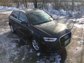 Used 2015 Audi Q3 Technik ONLY 44000 km for sale in Perth, ON