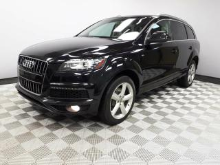 Used 2010 Audi Q7 3.6 Premium S-Line Quattro - Local 2nd Owner Trade In | Originally from BC | Leather Interior | Memory Seat | Heated Front/Rear Seats | Seats 7 | Panoramic Sunroof with Rear Skylight | Power Liftgate | Navigation | Back Up Camera | Parking Sensors | Dual  for sale in Edmonton, AB