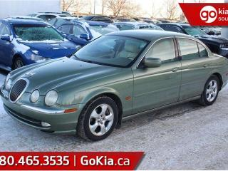 Used 2000 Jaguar S-Type **$75 B/W PAYMENTS!!! FULLY INSPECTED!!!!** for sale in Edmonton, AB