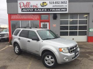 Used 2008 Ford Escape XLT V6 4X4 for sale in London, ON