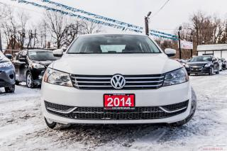 Used 2014 Volkswagen Passat COMFORTLINE/LEATHER/NO ACCIDENT/ALLOYS/SUNROOF for sale in Brampton, ON