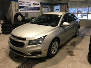 Used 2016 Chevrolet Cruze LT for sale in Nicolet, QC