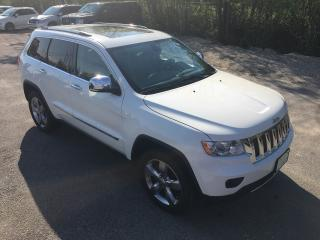 Used 2012 Jeep Grand Cherokee Overland Only 86600 km for sale in Perth, ON