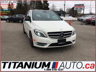 Used 2014 Mercedes-Benz B-Class AMG+Camera+GPS+Pano Roof+Blind Spot & Lane Assist+ for sale in London, ON