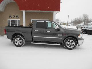 Used 2015 RAM 1500 4WD Quad Cab Big Horn ECO DIESEL for sale in Lévis, QC