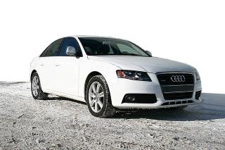 Used 2009 Audi A4 Berline 4 portes, boîte automatique, 2.0 for sale in Ste-Foy, QC