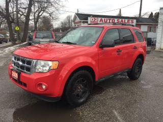 Used 2009 Ford Escape XLT/Automatic/4x4/4 Cylinder/Certified for sale in Scarborough, ON