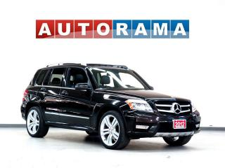 Used 2012 Mercedes-Benz GLK350 NAVIGATION LEATHER SUNROOF  BACKUP CAM 4WD for sale in North York, ON