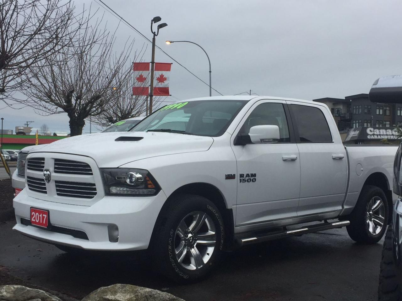 used 2017 ram 1500 sport for sale in langley british columbia. Black Bedroom Furniture Sets. Home Design Ideas