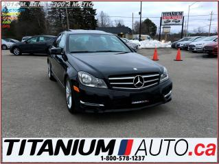 Used 2014 Mercedes-Benz C 300 4 Matic+Camera+GPS+Power Leather Heated Seats+Roof for sale in London, ON