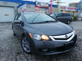 Used 2009 Acura CSX Tech Pkg w/Navi_Leather_Sunroof for sale in Oakville, ON