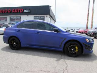 Used 2008 Mitsubishi Lancer Evolution Evolution MR AWD LEATHER CERTIFIED 2YR WARRANTY for sale in Milton, ON