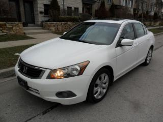 Used 2008 Honda Accord EX, SUNROOF, CERTIFIED, A1 CONDITION for sale in Etobicoke, ON