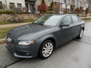 Used 2010 Audi A4 2.0T QUATTRO AWD, SUNROOF, CERTIFIED for sale in Etobicoke, ON