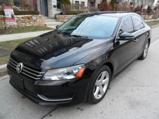 Used 2012 Volkswagen Passat 2.5L LEATHER ROOF BLUETOTH CERTIFIED for sale in Etobicoke, ON