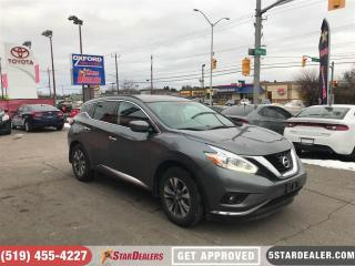 Used 2016 Nissan Murano SV | NAV | ROOF | AWD | ONE OWNER for sale in London, ON