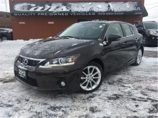 Used 2012 Lexus CT 200h HYBRID | 1 OWNER | ROOF | FULL SERVICE ... for sale in St Catharines, ON