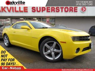 Used 2012 Chevrolet Camaro 2LT | HUD | LEATHER | B/U CAM | 6 SPEED M/T for sale in Oakville, ON