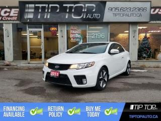 Used 2011 Kia Forte Koup SX ** Leather, Sunroof, Bluetooth ** for sale in Bowmanville, ON