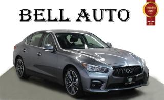 Used 2014 Infiniti Q50 S SPORT NAVIGATION LEATHER SUNROOF for sale in North York, ON