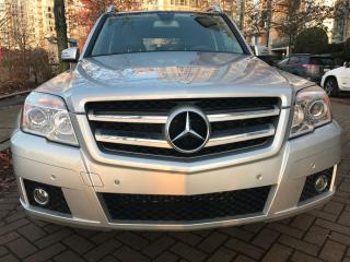 Used 2010 Mercedes-Benz GLK-Class 4 MATIC,PANORAMIC SUN ROOF,NO ACCIDENT for sale in Vancouver, BC