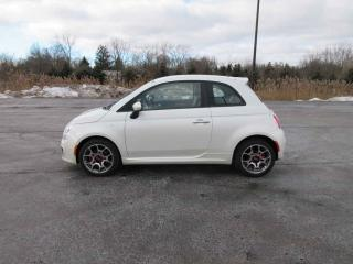 Used 2012 Fiat 500 SPORT FWD for sale in Cayuga, ON