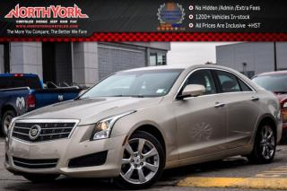 Used 2014 Cadillac ATS Luxury AWD|BackUpCam|PkAsst.|R-Start|Leather|HeatFrntSeats|17