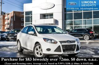 Used 2013 Ford Focus SE SEDAN - BLLUETOOTH - HEATED SEATS for sale in Ottawa, ON