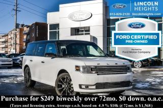 Used 2017 Ford Flex SEL AWD - BLUETOOTH - BLIND SPOT MONITORING SYS - REMOTE START - NAV for sale in Ottawa, ON