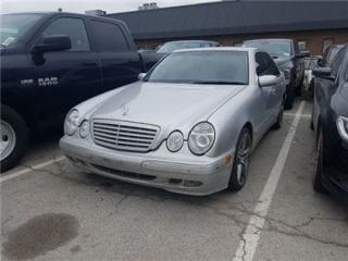 Used 2001 Mercedes-Benz E-Class 4M Leather, Sunroof, ALL Wheel Drive !!! for sale in Concord, ON