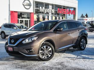 Used 2015 Nissan Murano SL, AWD, NAVIGATION, LEATHER, MOONROOF, BACK UP CAMERA for sale in Orleans, ON