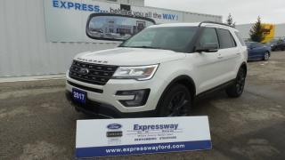Used 2017 Ford Explorer XLT AWD 3.5L V6 SPORT, Moonroof, NavSys for sale in Stratford, ON