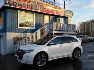 Used 2013 Ford Edge Sport AWD **Leather/Pano Roof/Rev Cam** for sale in Barrie, ON