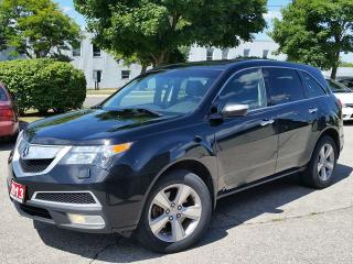 Used 2013 Acura MDX SH AWD **one owner**accident free**3 keys**3rd row** for sale in Cambridge, ON
