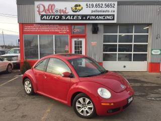 Used 2008 Volkswagen Beetle TRENDLINE 2.5L LEATHER+SUNROOF for sale in London, ON