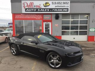Used 2014 Chevrolet Camaro 2SS 6.2L V8 CONVERTIBLE for sale in London, ON