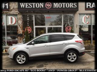 Used 2013 Ford Escape SE*ECO-BOOST*AWD*POWER GROUP*BLUETOOTH* for sale in York, ON