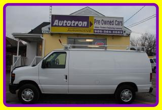 Used 2010 Ford E150 1/2 Ton Econoline Cargo Van A/C Hitch, Roof rack for sale in Woodbridge, ON