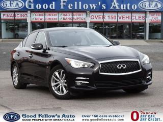 Used 2014 Infiniti Q50 PREMIUM Pkg, 6CYL 3.7 L, AWD, SUN ROOF, CAMERA for sale in North York, ON