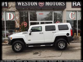 Used 2007 Hummer H3 LMTD*4X4*LEATHER*CHRM PKG*SUNROOF*RARE*AMAZING!!* for sale in York, ON
