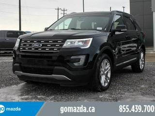 Used 2016 Ford Explorer 4X4 7PASS FULLY LOADED 1 OWNER ACCIDENT FREE for sale in Edmonton, AB