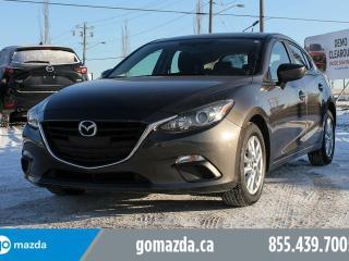 Used 2016 Mazda MAZDA3 GS SPORT BACKUP CAMERA ACCIDENT FREE for sale in Edmonton, AB