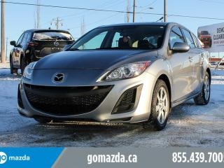 Used 2011 Mazda MAZDA3 GX SPORT POWER OPTIONS 1 OWNER ACCIDENT FREE for sale in Edmonton, AB
