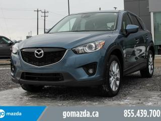 Used 2014 Mazda CX-5 GT AWD LEATHER SUNROOF ACCIDENT FREE for sale in Edmonton, AB