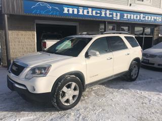 Used 2007 GMC Acadia SLT2 AWD 90 day Warranty! for sale in Niagara Falls, ON