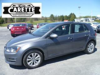 Used 2015 Volkswagen Golf Tdi comfortline cuir-toit for sale in East broughton, QC