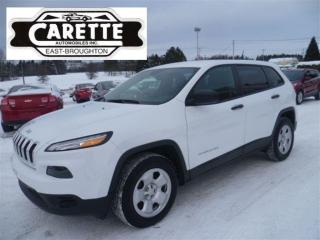 Used 2017 Jeep Cherokee SPORT 4X4 for sale in East Broughton, QC